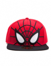 Spider-man 3D Snapback with Mesh Eyes